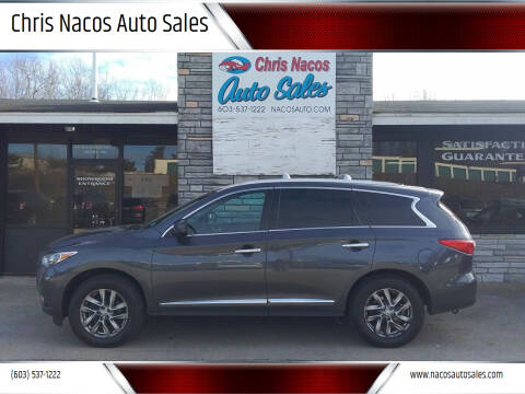2013 Infiniti JX35 for sale at Chris Nacos Auto Sales in Derry NH