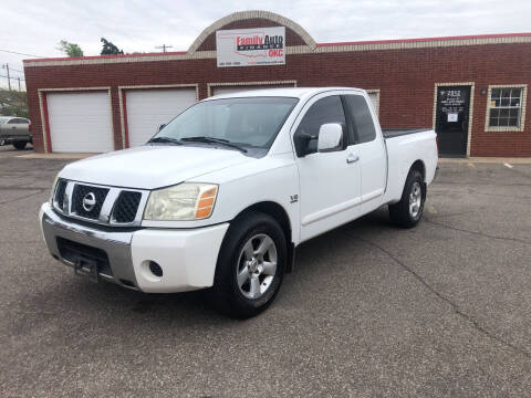 2004 Nissan Titan for sale at Family Auto Finance OKC LLC in Oklahoma City OK