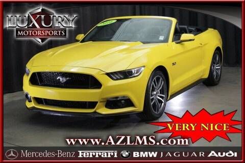 2016 Ford Mustang for sale at Luxury Motorsports in Phoenix AZ