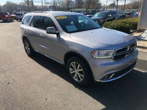 2016 Dodge Durango for sale at Adams Auto Group Inc. in Charlotte NC