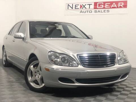 2006 Mercedes-Benz S-Class for sale at Next Gear Auto Sales in Westfield IN