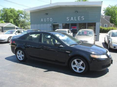 2004 Acura TL for sale at SHEFFIELD MOTORS INC in Kenosha WI