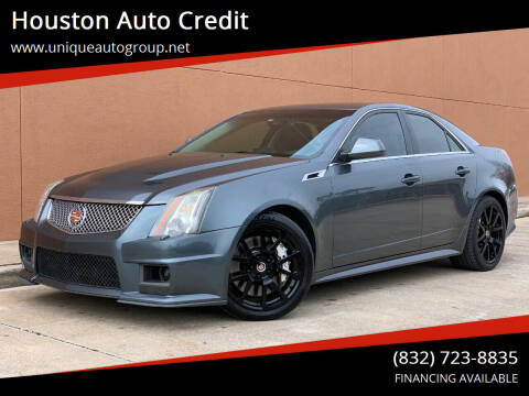 2011 Cadillac CTS-V for sale at Houston Auto Credit in Houston TX