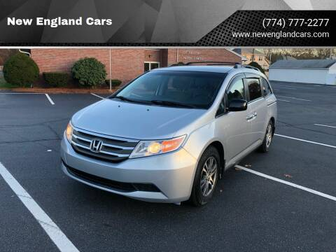 2011 Honda Odyssey for sale at New England Cars in Attleboro MA