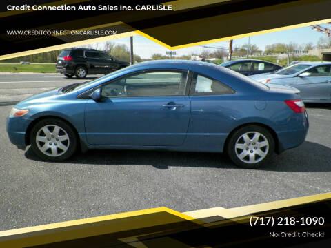 2006 Honda Civic for sale at Credit Connection Auto Sales Inc. CARLISLE in Carlisle PA