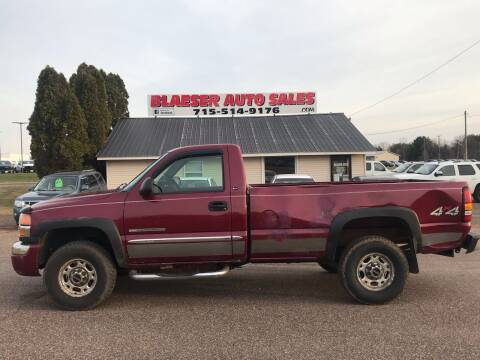 2004 GMC Sierra 2500HD for sale at BLAESER AUTO LLC in Chippewa Falls WI