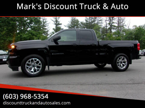 2016 Chevrolet Silverado 1500 for sale at Mark's Discount Truck & Auto in Londonderry NH