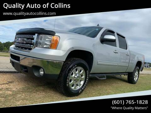 2012 GMC Sierra 2500HD for sale at Quality Auto of Collins in Collins MS