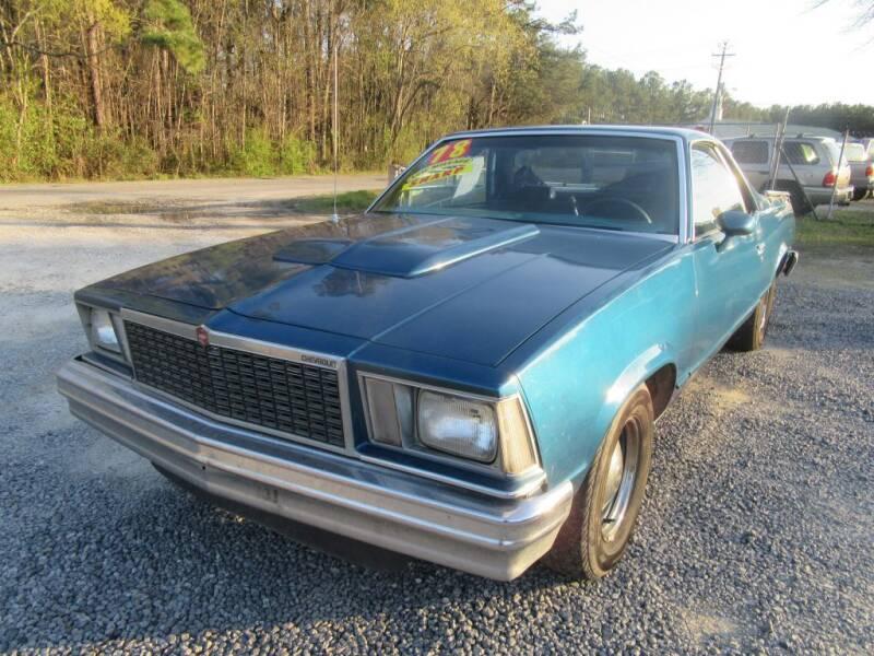 1978 Chevrolet El Camino for sale at Bullet Motors Charleston Area in Summerville SC