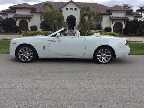 2016 Rolls-Royce Dawn for sale at Second 2 None Auto Center in Naples FL