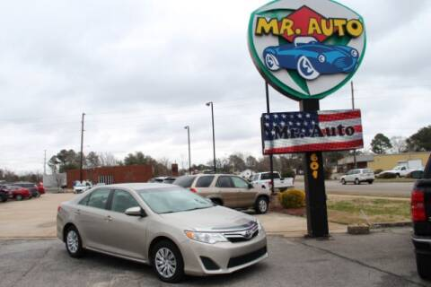 2013 Toyota Camry for sale at MR AUTO in Elizabeth City NC