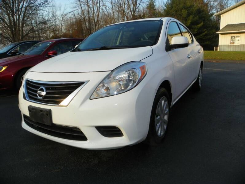2014 Nissan Versa for sale at Ed Davis LTD in Poughquag NY
