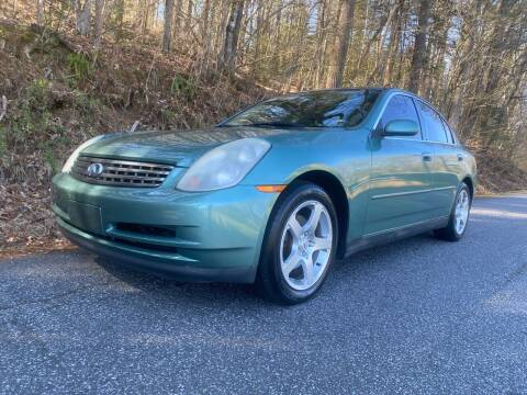2003 Infiniti G35 for sale at Lenoir Auto in Lenoir NC