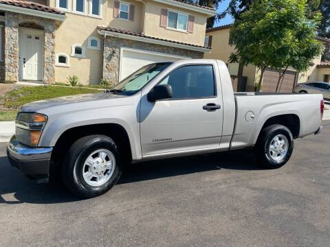 2004 Chevrolet Colorado for sale at CALIFORNIA AUTO GROUP in San Diego CA