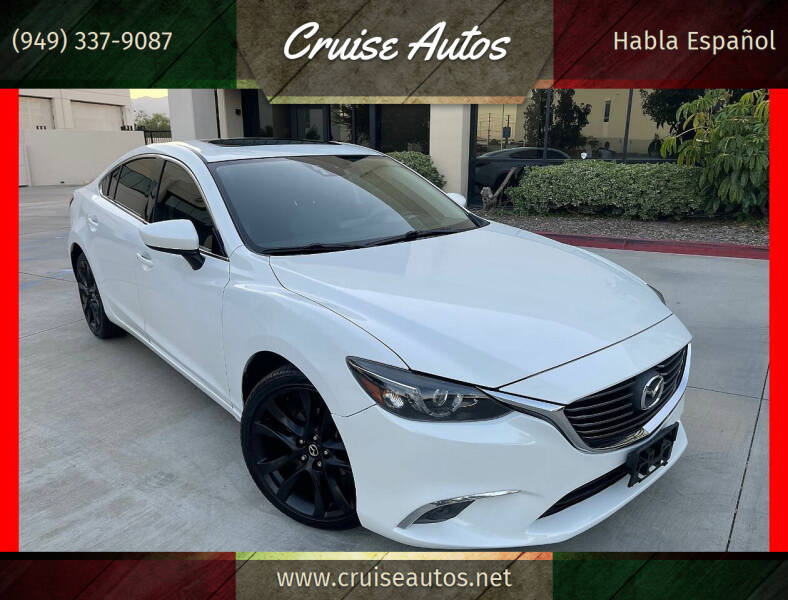2016 Mazda MAZDA6 for sale at Cruise Autos in Corona CA