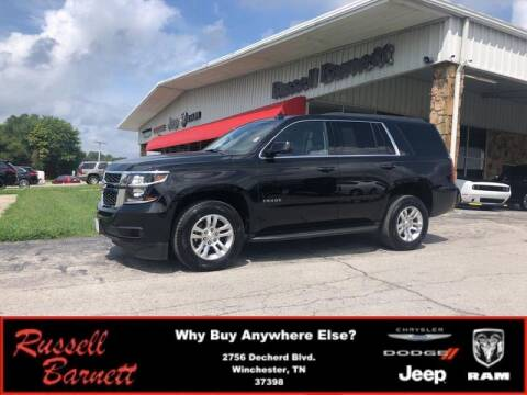 2019 Chevrolet Tahoe for sale at Russell Barnett Chrysler Dodge Jeep Ram in Winchester TN