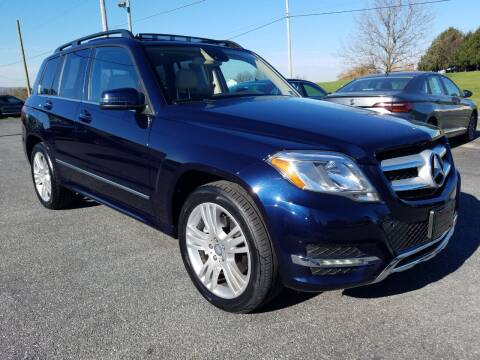 2014 Mercedes-Benz GLK for sale at John Huber Automotive LLC in New Holland PA