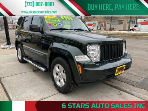 2010 Jeep Liberty for sale at 6 STARS AUTO SALES INC in Chicago IL