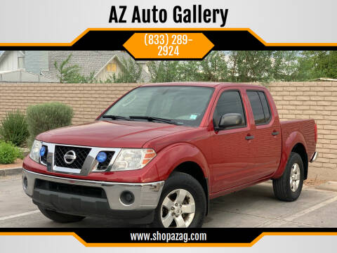 2010 Nissan Frontier for sale at AZ Auto Gallery in Mesa AZ