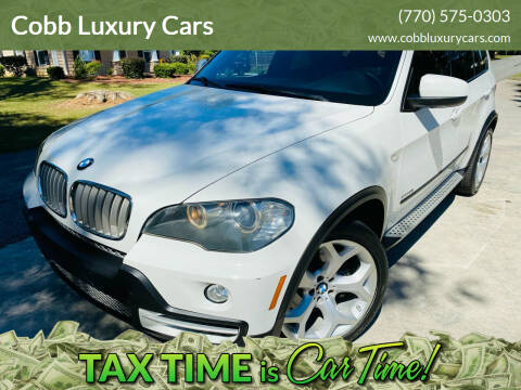 2010 BMW X5 for sale at Cobb Luxury Cars in Marietta GA