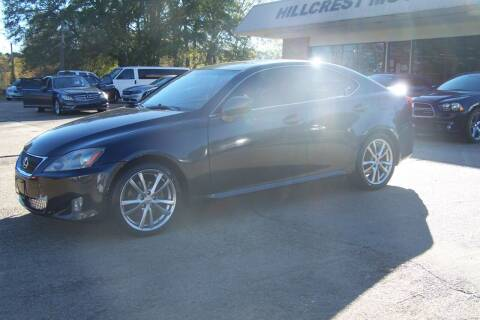 2008 Lexus IS 250 for sale at HILLCREST MOTORS LLC in Byram MS