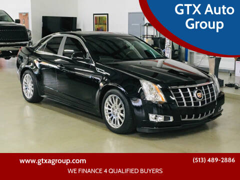 2012 Cadillac CTS for sale at GTX Auto Group in West Chester OH