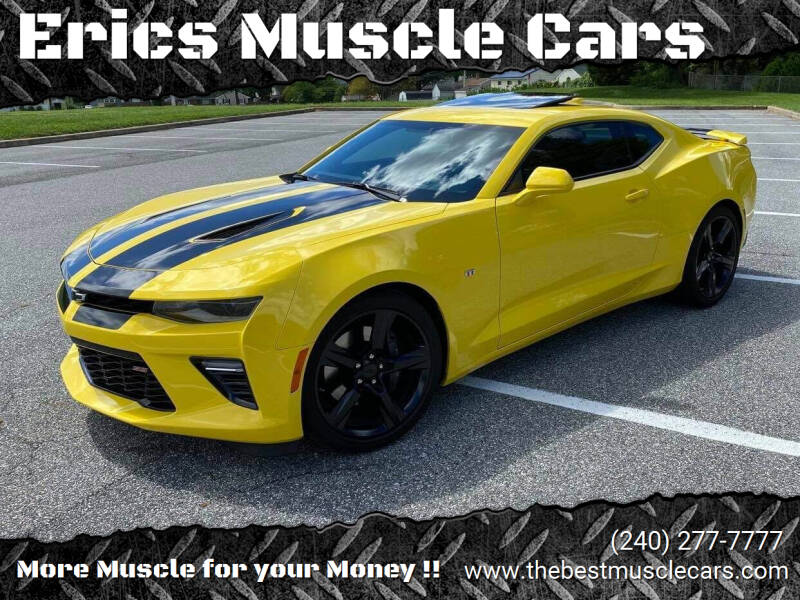 2017 Chevrolet Camaro for sale at Erics Muscle Cars in Clarksburg MD