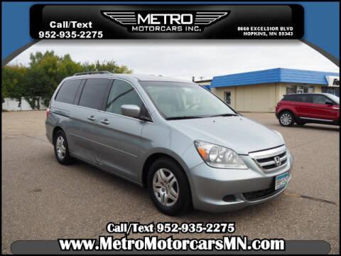 2007 Honda Odyssey for sale at Metro Motorcars Inc in Hopkins MN