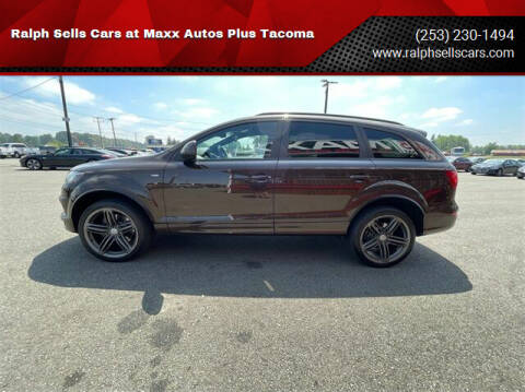 2013 Audi Q7 for sale at Ralph Sells Cars at Maxx Autos Plus Tacoma in Tacoma WA