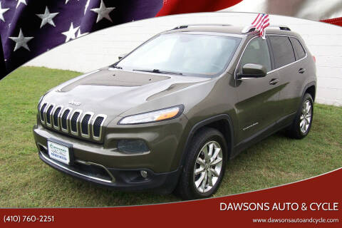 2015 Jeep Cherokee for sale at Dawsons Auto & Cycle in Glen Burnie MD