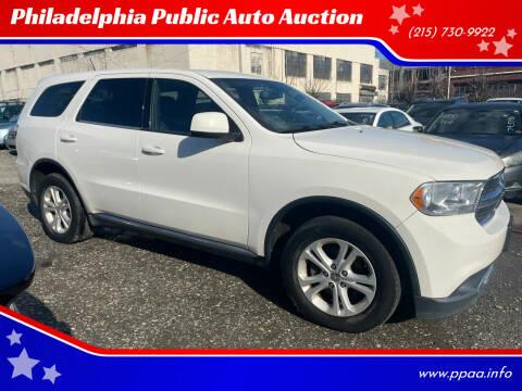 2012 Dodge Durango for sale at Philadelphia Public Auto Auction in Philadelphia PA