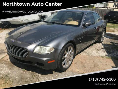 2006 Maserati Quattroporte for sale at Northtown Auto Center in Houston TX