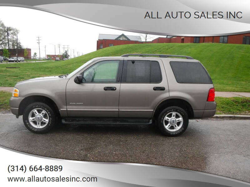 2004 Ford Explorer for sale at ALL Auto Sales Inc in Saint Louis MO