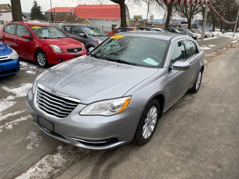2013 Chrysler 200 for sale at Midtown Autoworld LLC in Herkimer NY