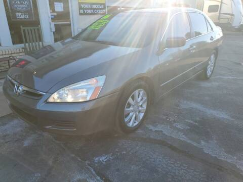 2006 Honda Accord for sale at Bailey Family Auto Sales in Lincoln AR