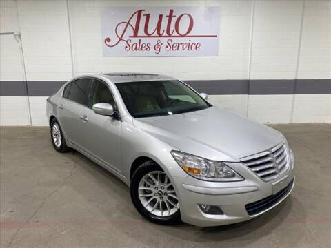 2010 Hyundai Genesis for sale at Auto Sales & Service Wholesale in Indianapolis IN