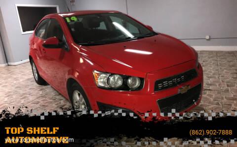 2014 Chevrolet Sonic for sale at TOP SHELF AUTOMOTIVE in Newark NJ
