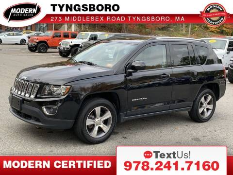 2016 Jeep Compass for sale at Modern Auto Sales in Tyngsboro MA