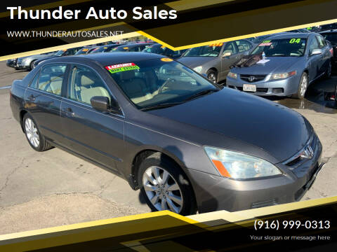 2007 Honda Accord for sale at Thunder Auto Sales in Sacramento CA