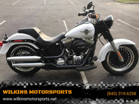 2016 Harley-Davidson Fat Boy for sale at WILKINS MOTORSPORTS in Brewster NY