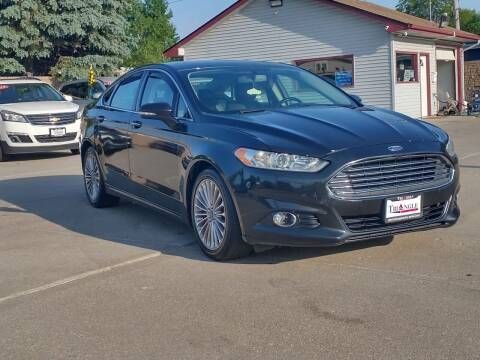 2013 Ford Fusion for sale at Triangle Auto Sales in Omaha NE