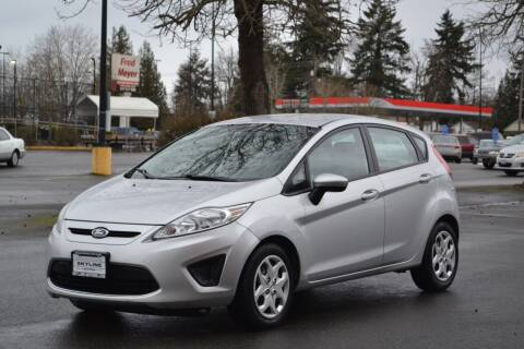 2012 Ford Fiesta for sale at Skyline Motors Auto Sales in Tacoma WA