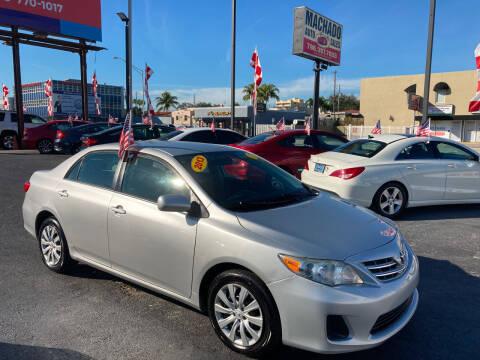 2013 Toyota Corolla for sale at MACHADO AUTO SALES in Miami FL