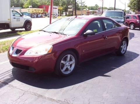 2008 Pontiac G6 for sale at LAKESIDE MOTORS LLC in Houghton Lake MI