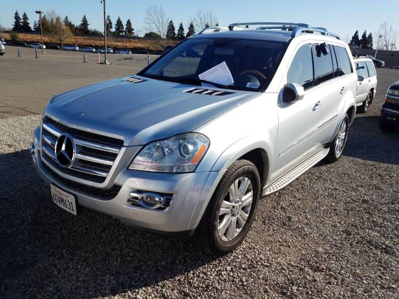 2009 Mercedes-Benz GL-Class for sale at MCHENRY AUTO SALES in Modesto CA