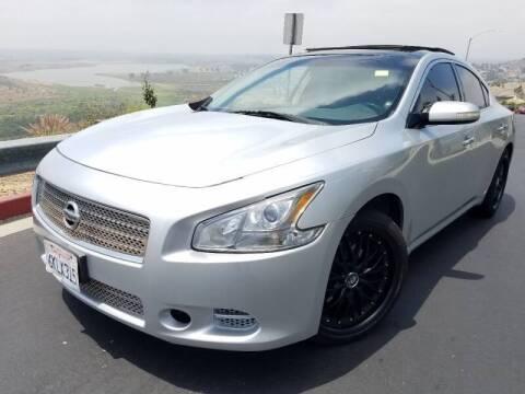 2009 Nissan Maxima for sale at Trini-D Auto Sales Center in San Diego CA