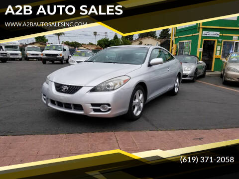 2008 Toyota Camry Solara for sale at A2B AUTO SALES in Chula Vista CA