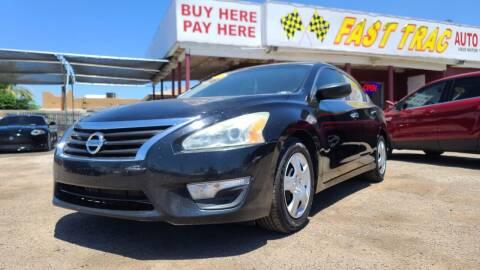 2014 Nissan Altima for sale at Fast Trac Auto Sales in Phoenix AZ