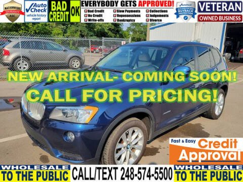 2013 BMW X3 for sale at North Oakland Motors in Waterford MI
