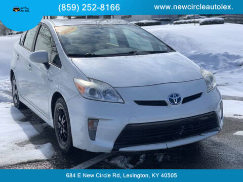 2014 Toyota Prius for sale at New Circle Auto Sales LLC in Lexington KY